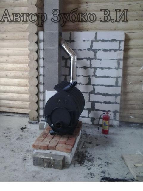 Как установить печь бренеран и дымоход к ней своими руками - жми!