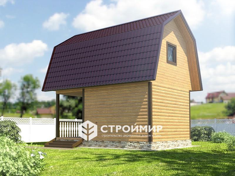 Баня с мансардой: восхитительные проекты с комфортным пространством под крышей