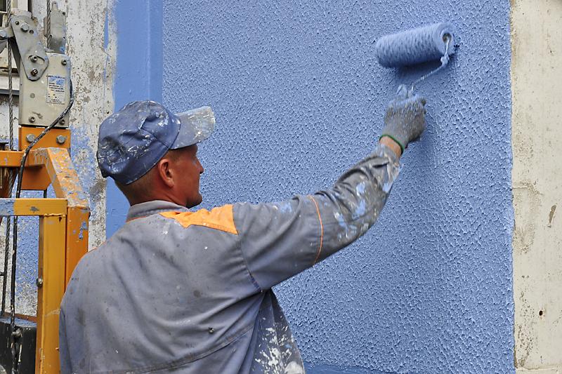 Акриловая краска для наружных работ (для фасада): расход на 1 м2, сочетание цветов, выбор