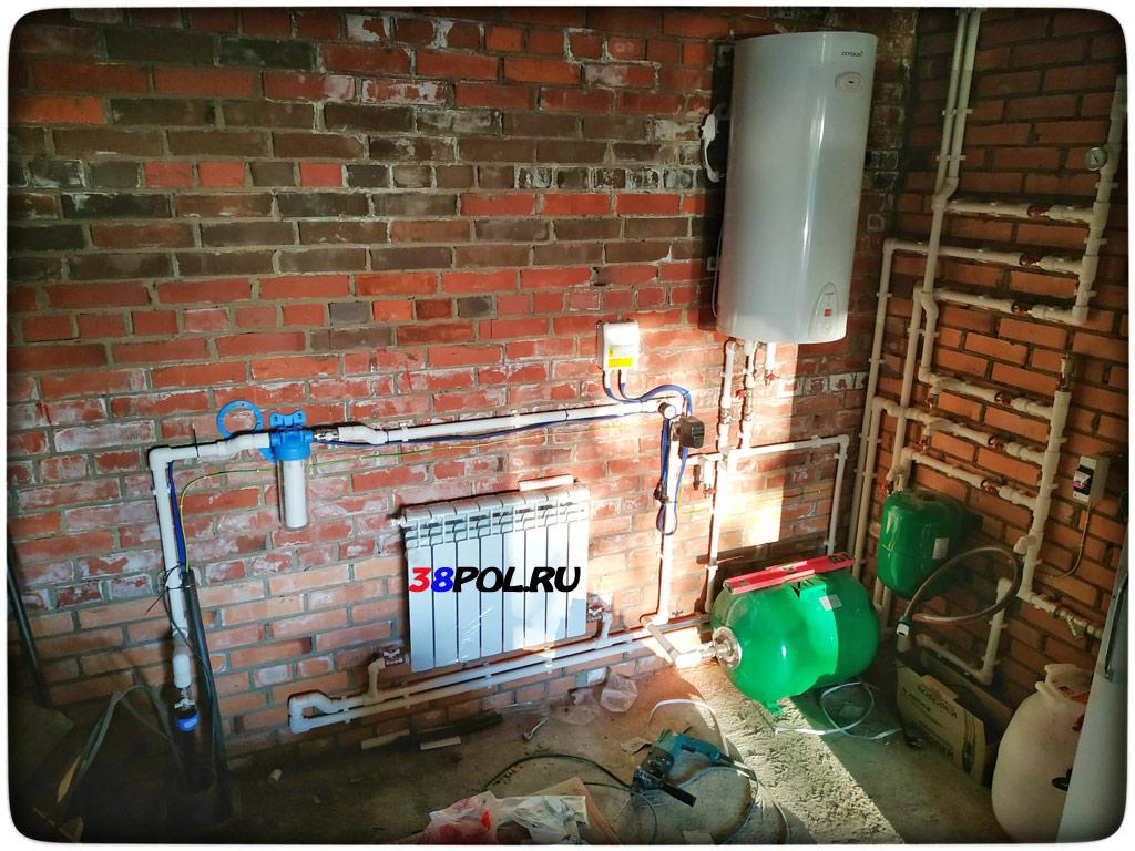 Водопровод в бане зимой без отопления