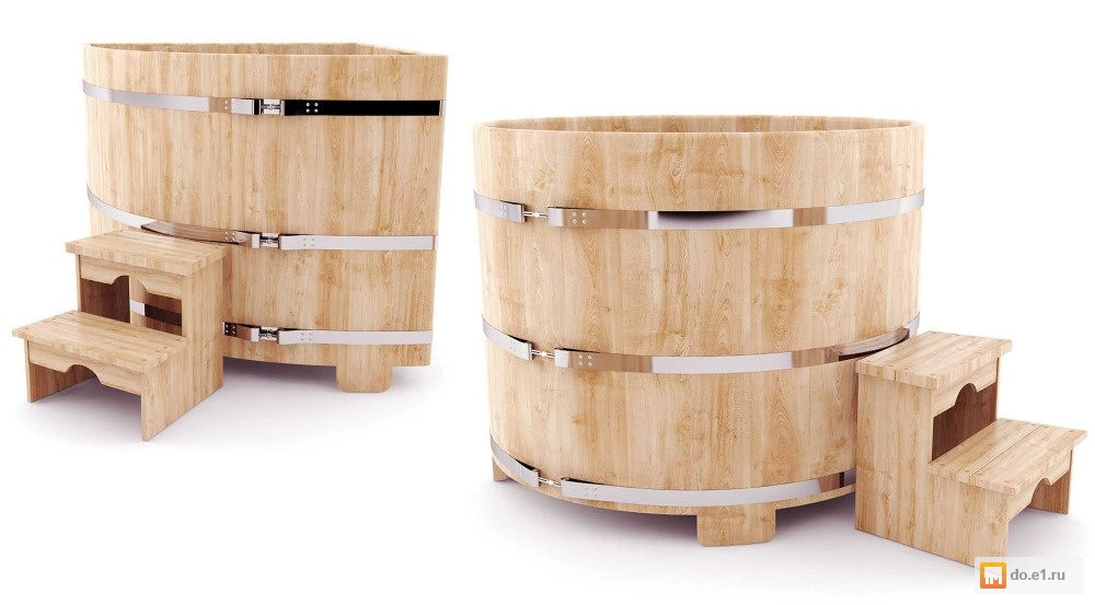 Купель для бани – что это такое, особенности основных видов, варианты с подогревом и подвесные