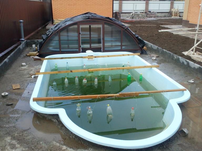 Консервация бассейна на зиму: технология и инструкция по проведению работ     housedb.ru