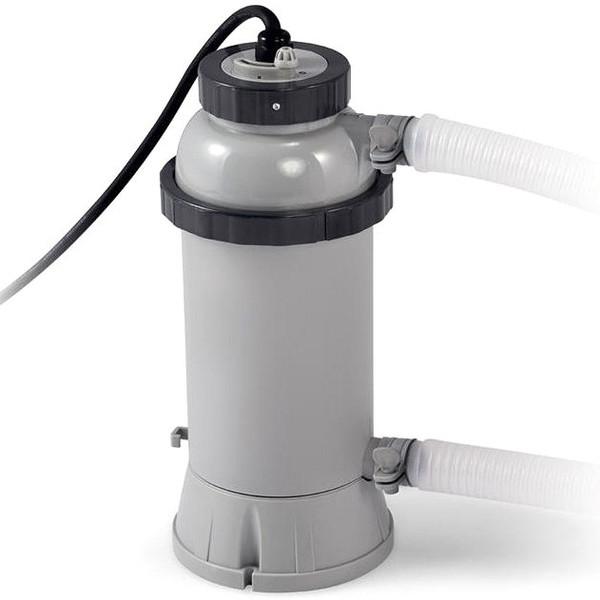Нагреватели для каркасных бассейнов: виды подогревателей, в каких случаях подойдет газовый, обзор моделей intex и bestway