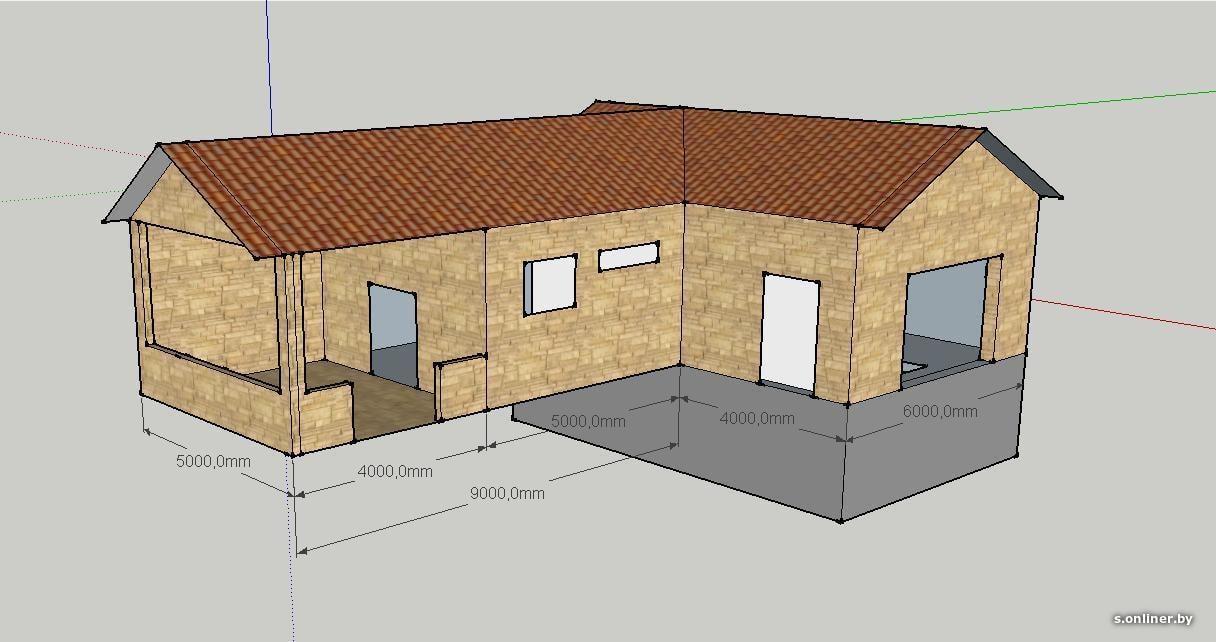 Паркуемся в парилке: проект бани с гаражом под одной крышей