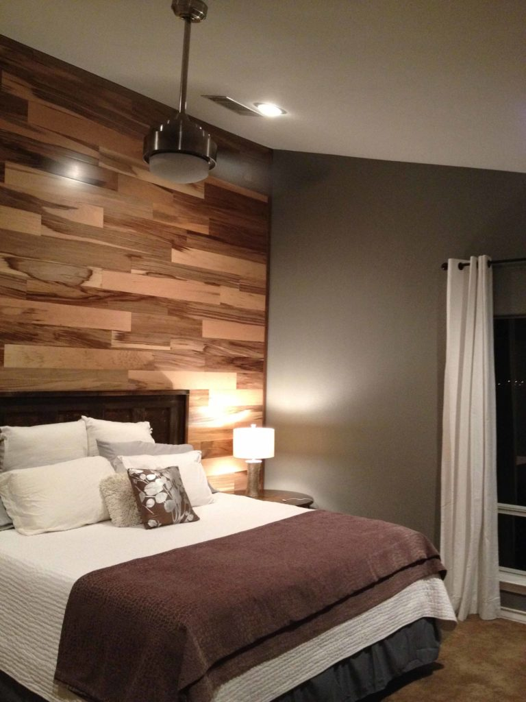 Отделка стен ламинатом: дизайн, способы крепления, ламинат на стене в интерьере, фото и видео