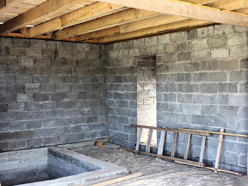 Как построить баню из керамзитных блоков: инструкция пошагово