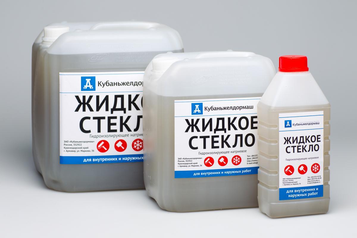 Гидроизоляция жидким стеклом: подготовка сырья и этапы применения
