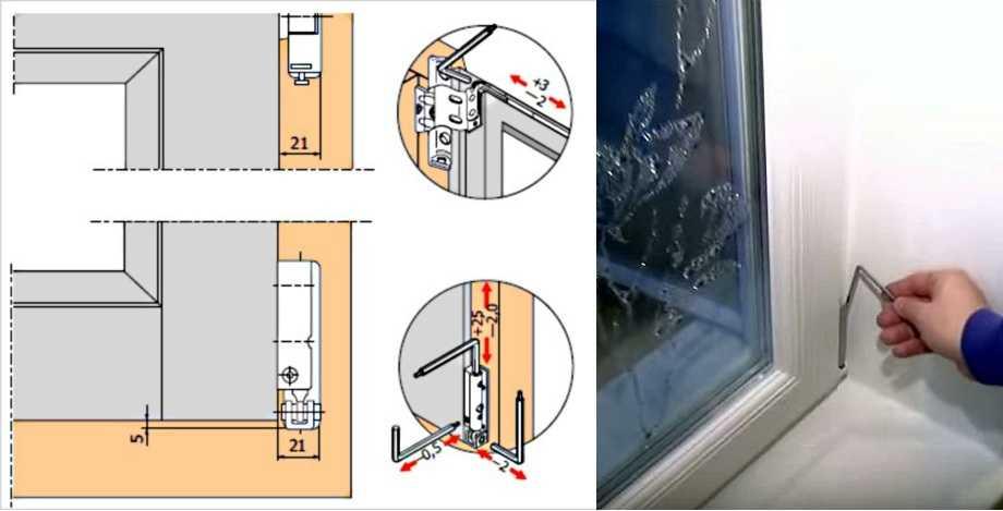 Регулировка пластиковых дверей самостоятельно + инструкция с фото