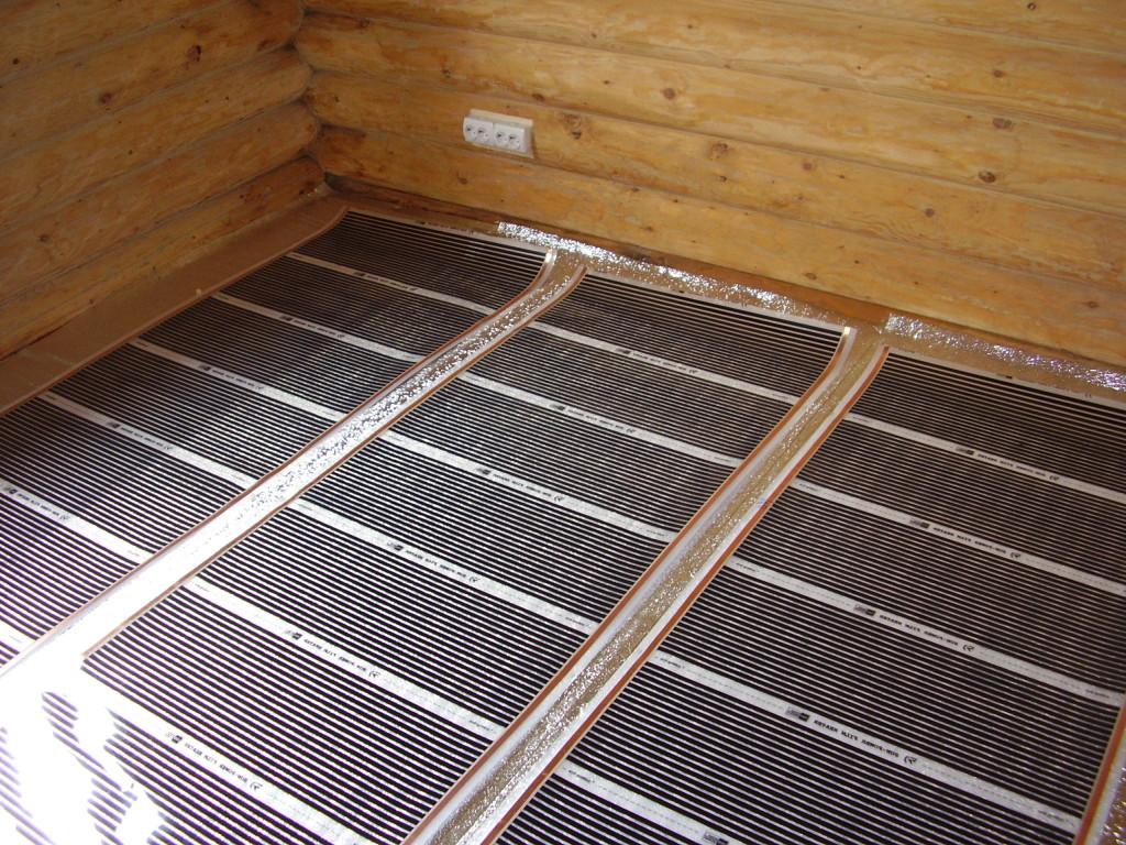 Теплый пол в бане электрический — плюсы, минусы, виды, укладка