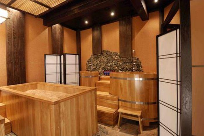 Баня японская офуро фурако с внешней дровяной печью. японские бани: офуро, фурако и сэнто – их особенности и эффективность процедур омовения | дачная жизнь