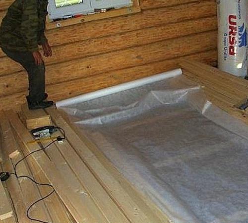 Гидроизоляция пола в бане: бетонного, деревянного, материалы и порядок работ