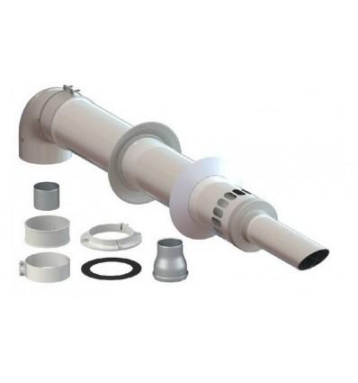 Коаксиальный газовый котел: принцип работы, правила установки, отзывы