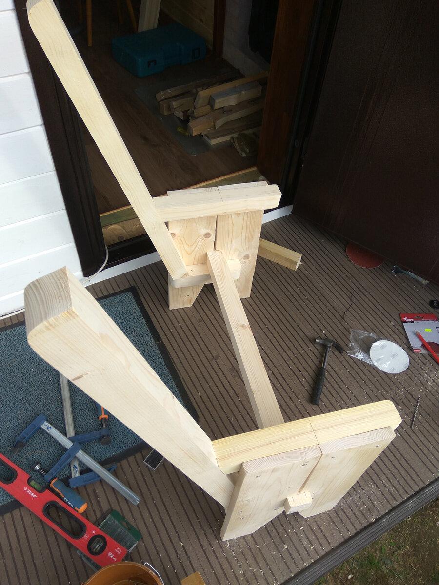 Как сделать скамейку для бани