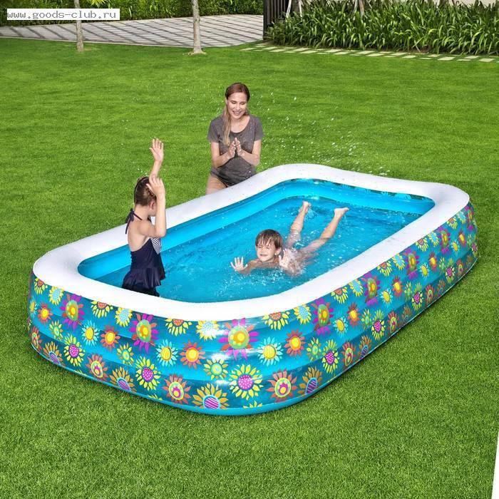Какой бассейн лучше каркасный или надувной — статья от intex online