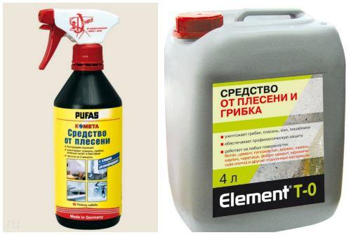Самые эффективные средства от плесени и грибка: savo, alpa, cillit bang, pufas, prosept и feidal schimmel