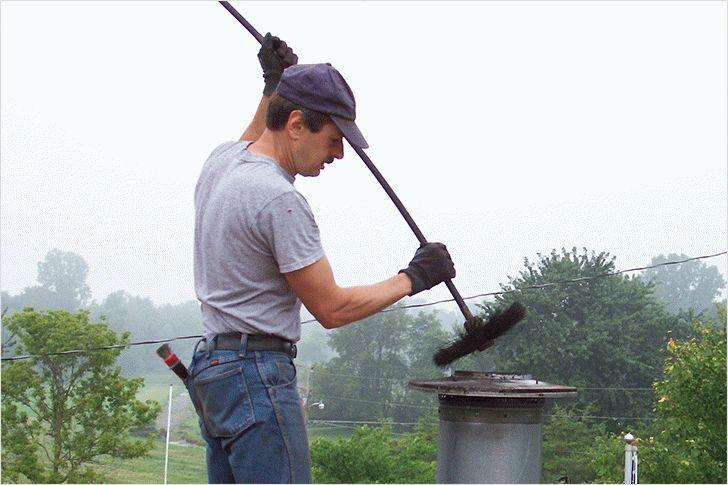 Самые эффективные способы чистки дымохода от сажи