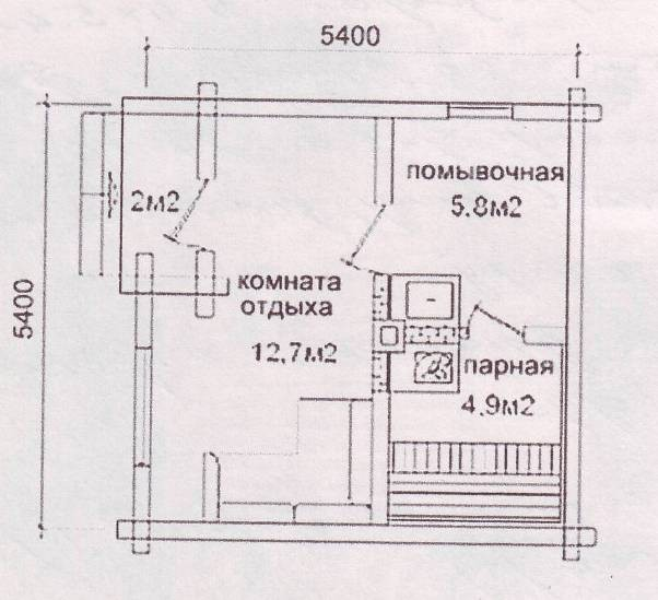 Стоимость строительства бани из сруба под ключ – смета по материалам