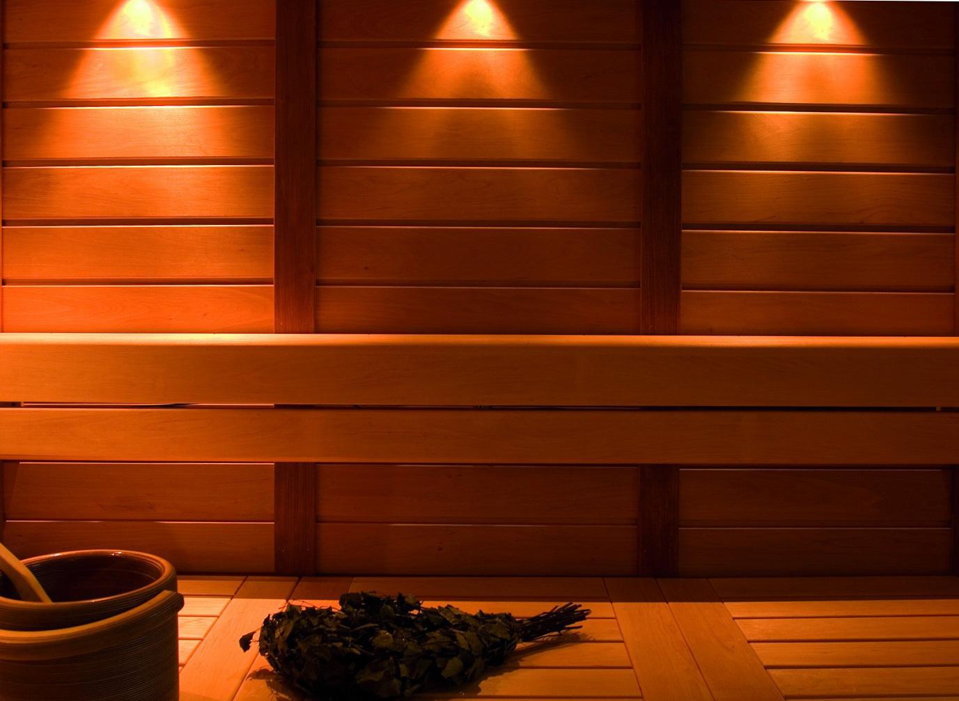 Освещение, свет в бане и парилке своими руками, объяснение на пальцах