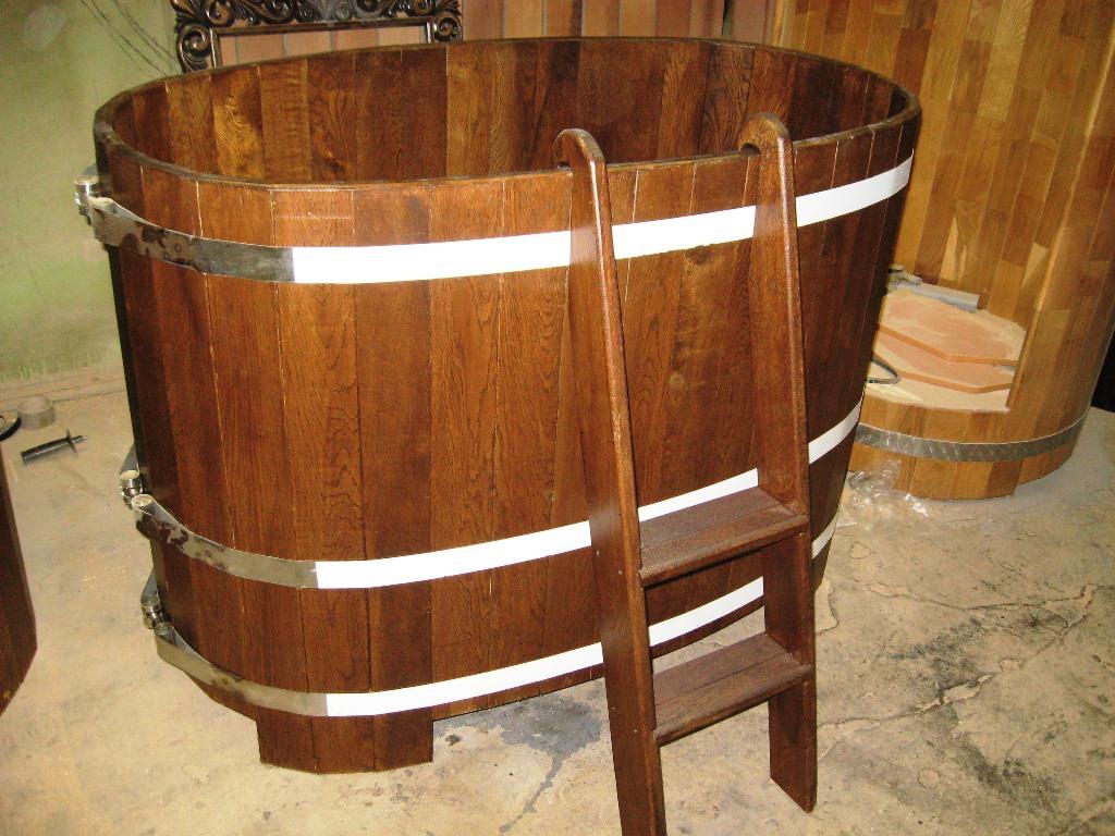 Как сделать купель для бани из дерева, бетона или готовой пластиковой формы