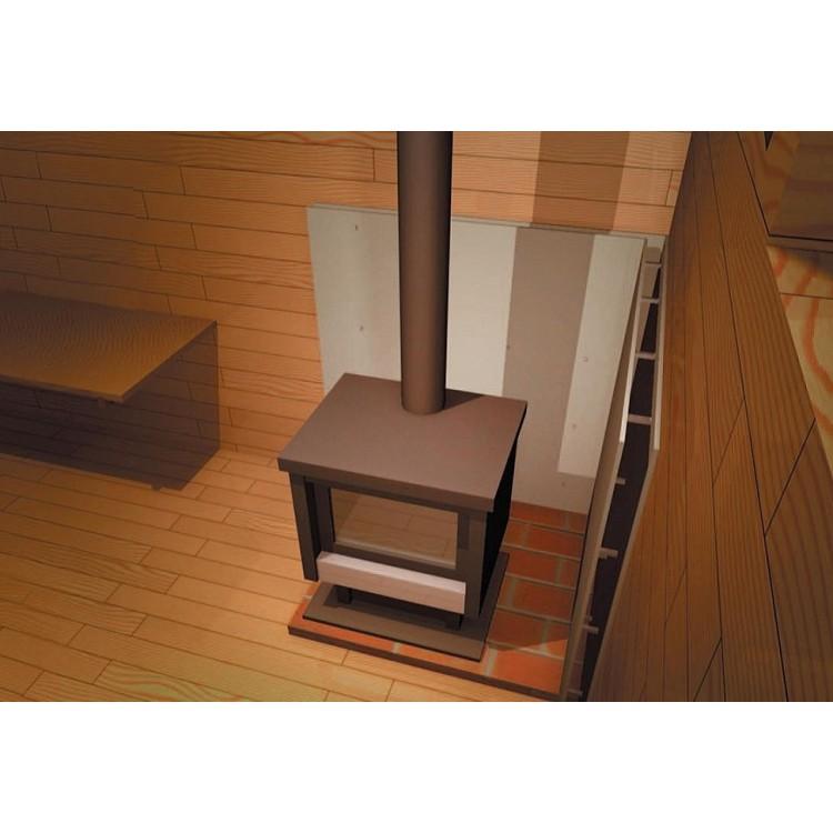 Огнеупорные листовые материалы для печей и каминов