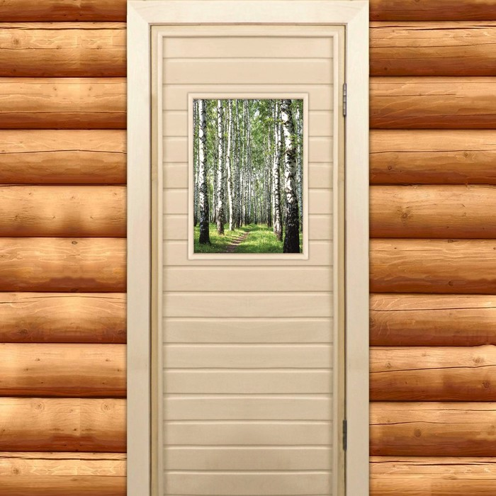 Особенности дерева и виды дверей хорошо подходящих для установки в баню