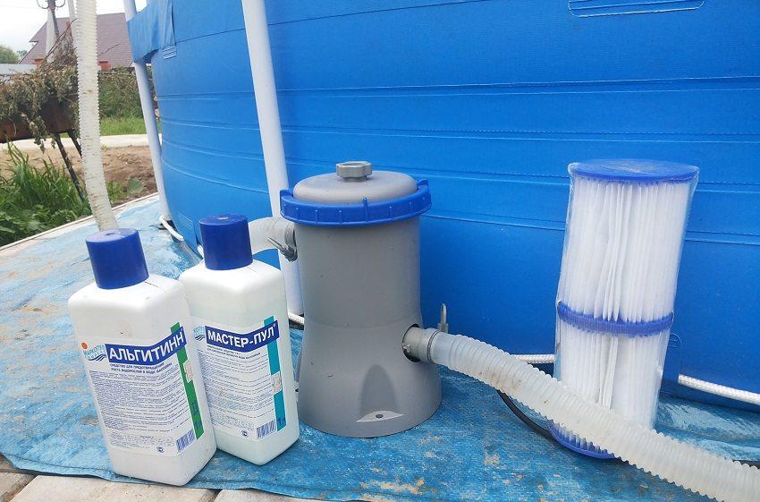 Как очистить воду в бассейне народными средствами дешево