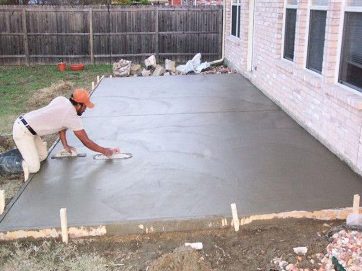 Железнение бетона что это? | способы железнения бетона