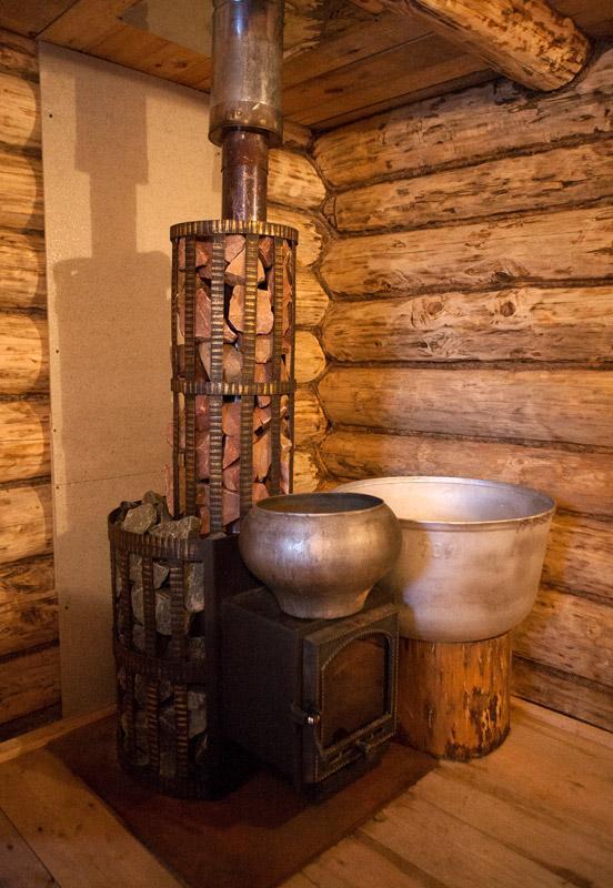Деревенская баня: устройство и технология возведения