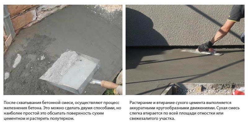 Как зажелезнить бетонный пол: дарим «вечную жизнь» бетонному основанию