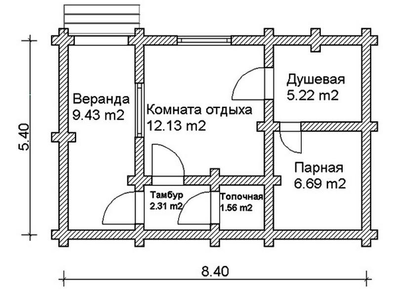 Баня из кирпича: плюсы и минусы
