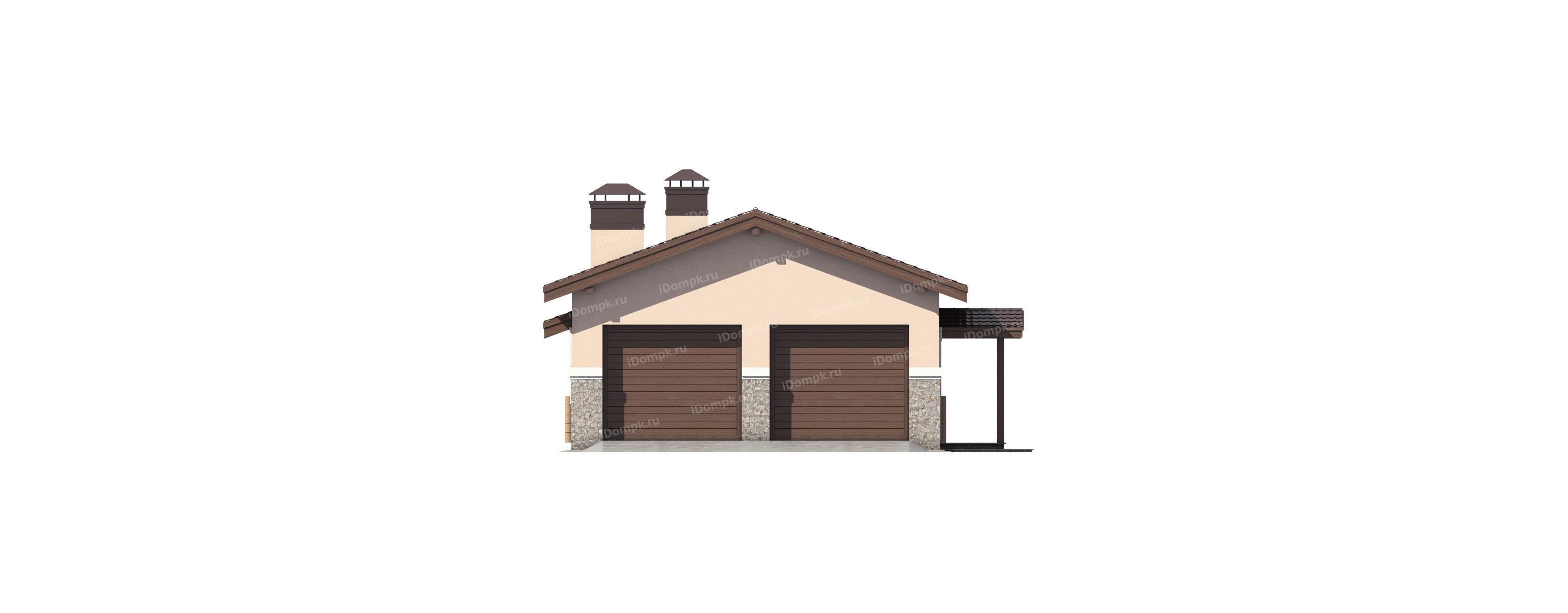 Бани с хозблоком: проекты бань с сараем и гаражом под одной крышей. как построить угловую баню совмещенную с беседкой или террасой?
