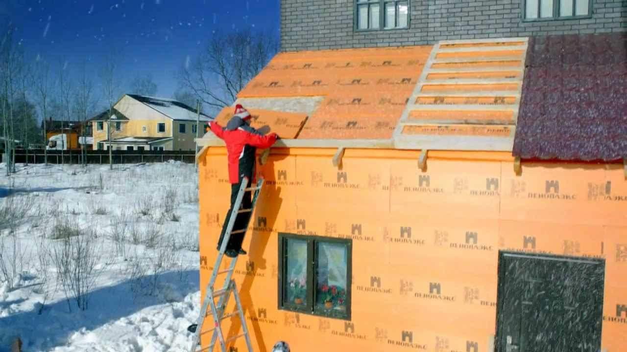Правила утепления деревянного дома с наружной стороны