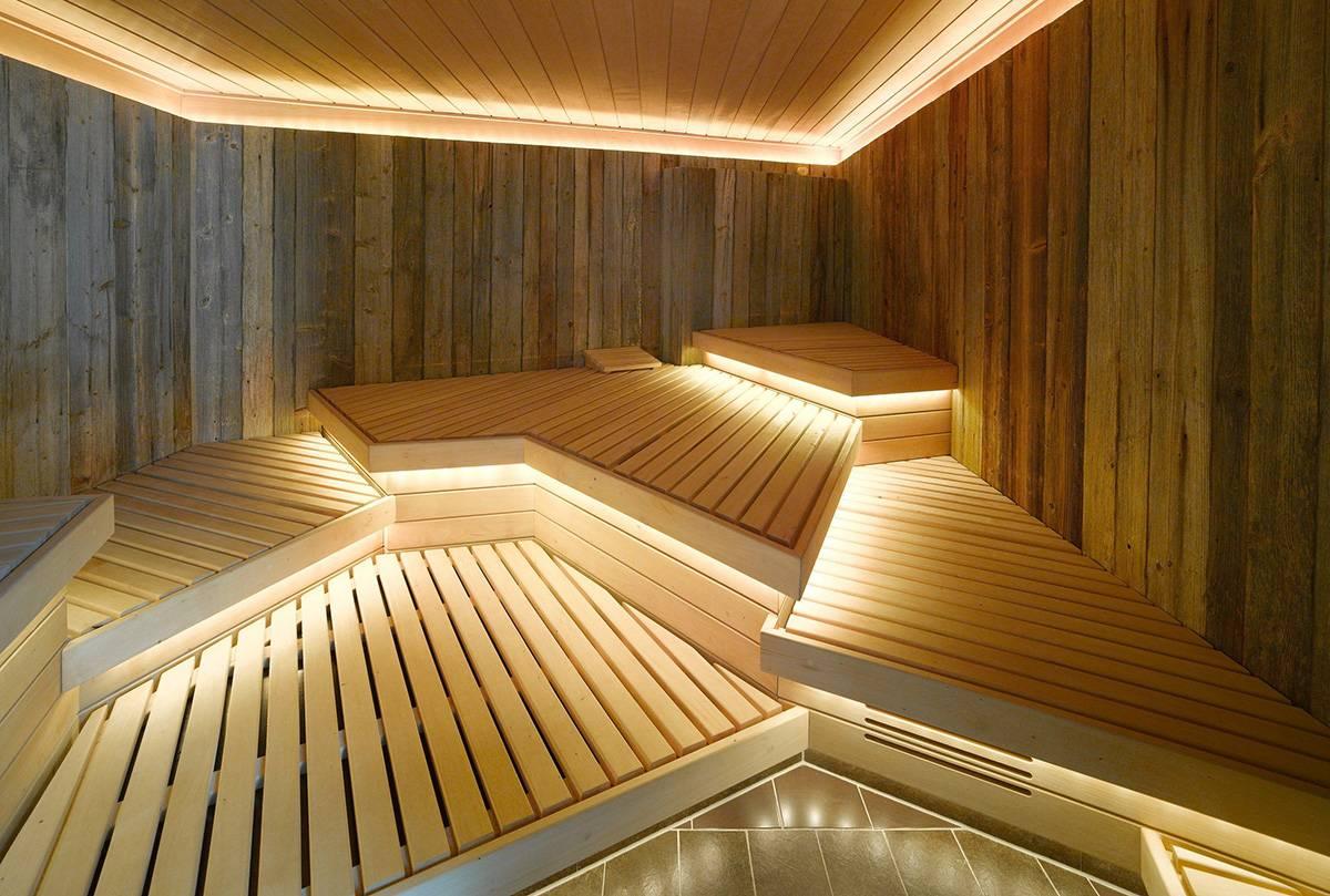 Освещение в парилке бани: 12 вольт, светодиодами, выбор корпуса и ламп