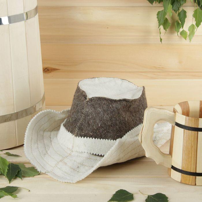 Как сделать прикольную шапку для бани своими руками