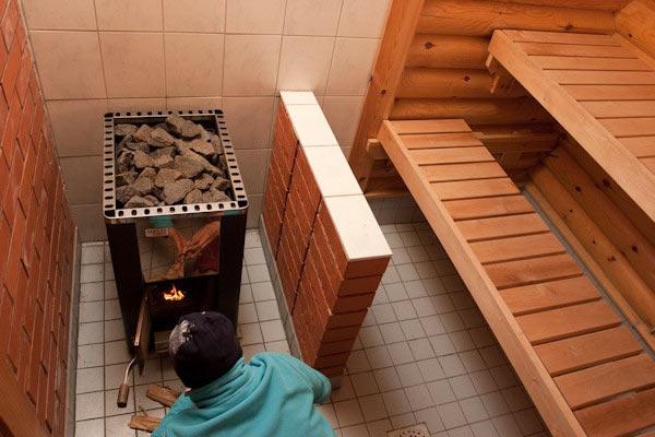 Жаростойкие материалы для отделки стен возле печи - всё о бане