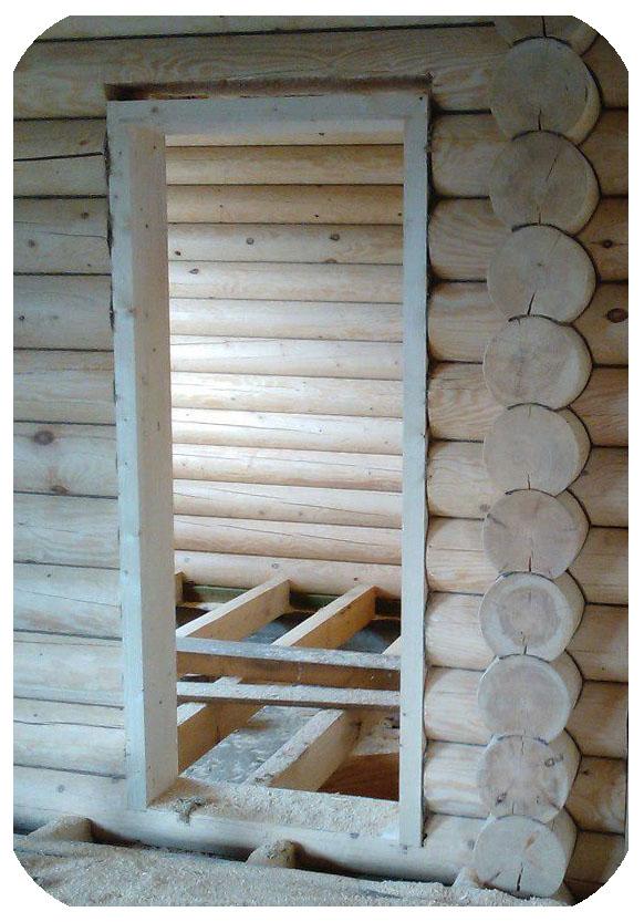 Как правильно установить железную дверь в деревянном доме