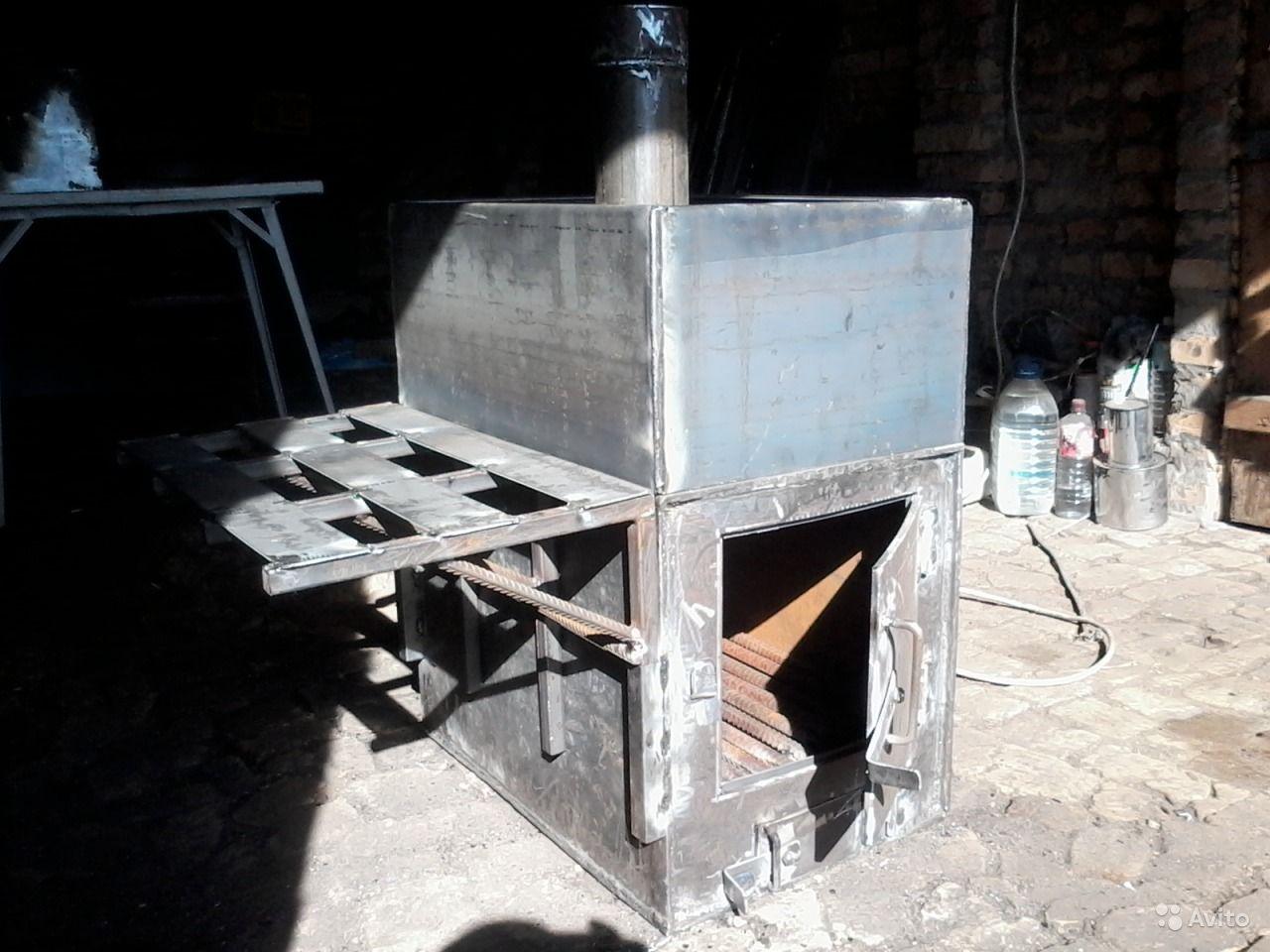 Как и чем покрасить банную печь?