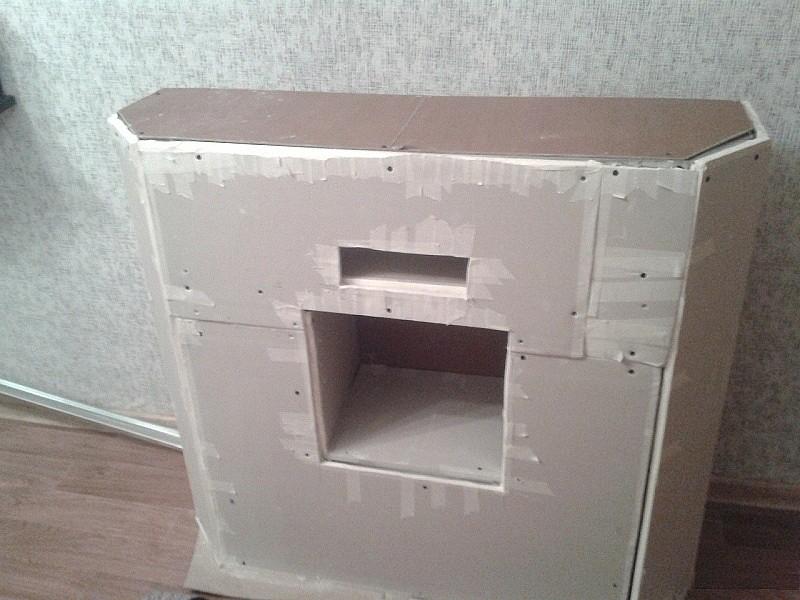 Термостойкий гипсокартон для камина