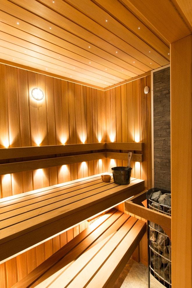 Светильники для бани: обзор источников света для разных помещений бани, какие можно использовать, а какие нельзя