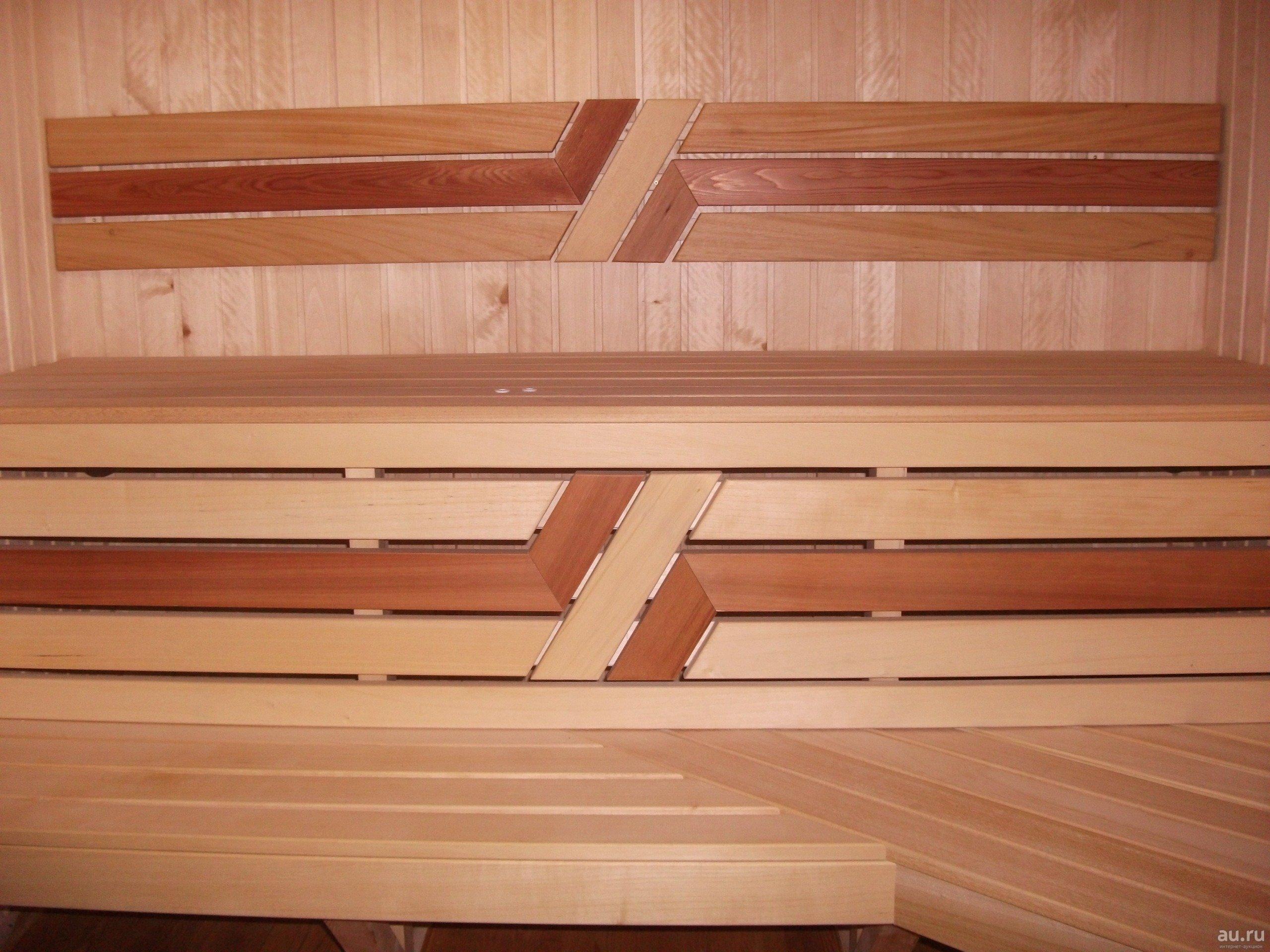 Полочки в баню [своими руками]: как сделать из дерева?