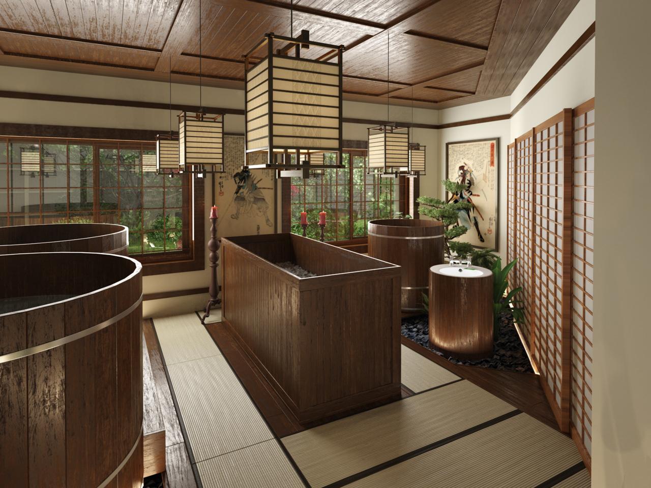 Японская баня — польза и противопоказания