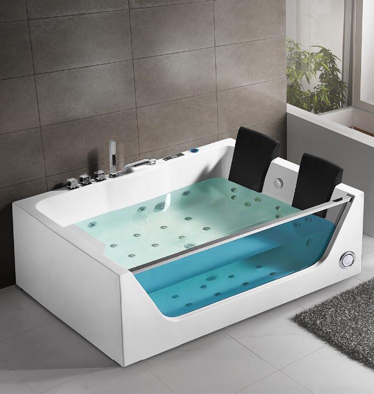 Угловые ванны с гидромассажем: размеры ванн-джакузи. чугунная гидромассажная ванна и другие модели для маленьких и больших комнат