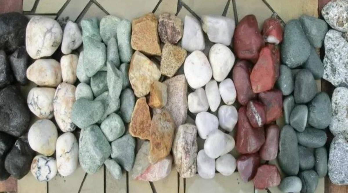Камни для бани: какие лучше для русской печи в парилке и сауны, сравнение в таблицах, соляные минералы, как выбрать и использовать, где найти в природе