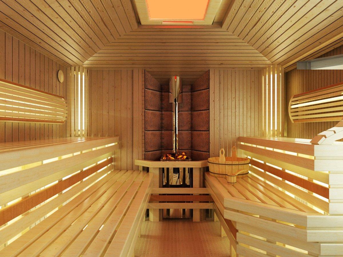 Комната отдыха в бане: выбираем стиль оформления и отделочные материалы