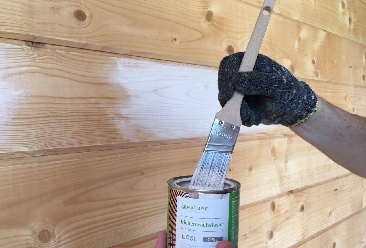 Как и чем обработать сруб бани – правила и способы обработки
