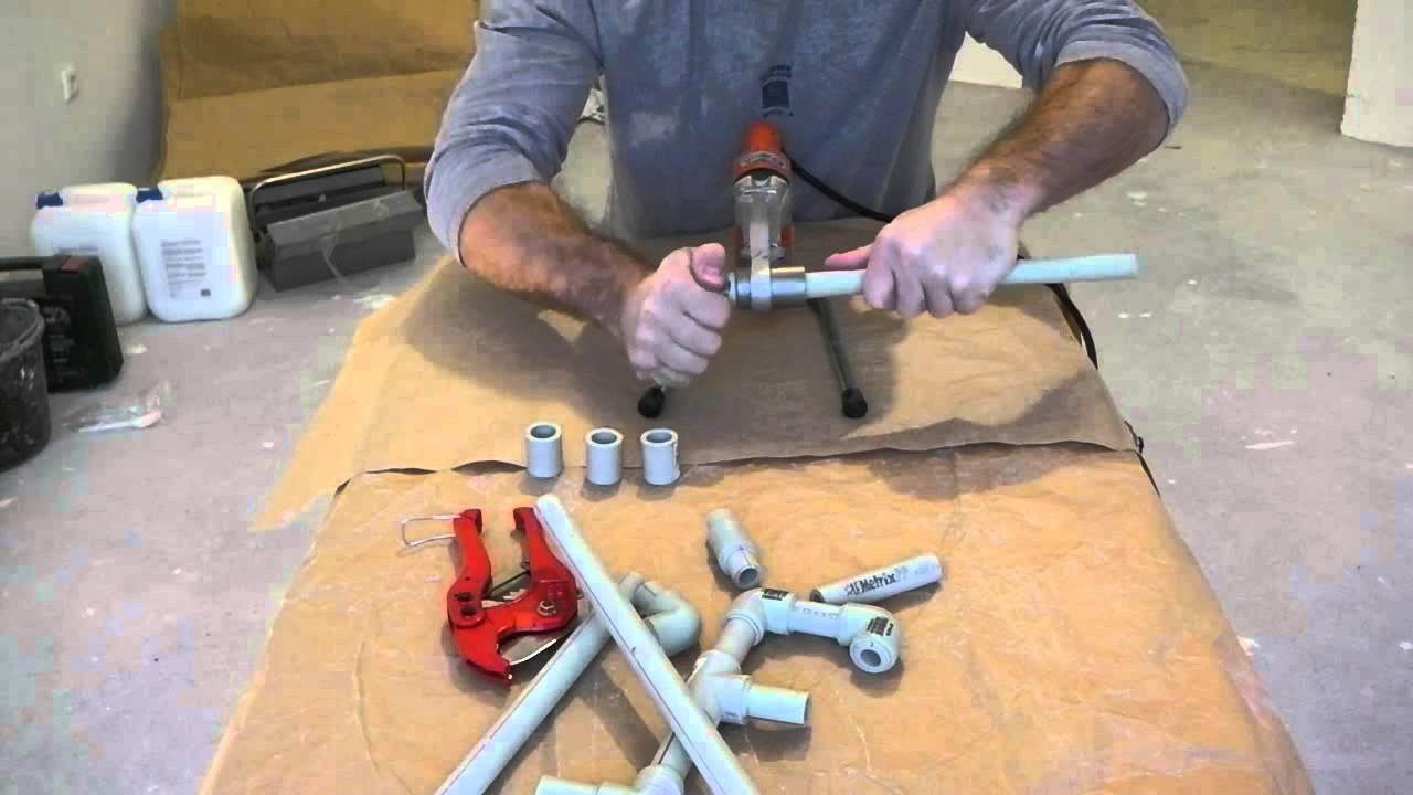 Пайка полипропиленовых труб - как правильно паять своими руками