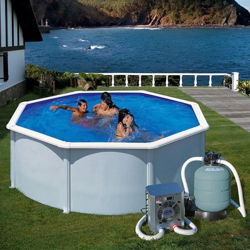 Как нагреть воду в бассейне: способы, особенности устройств для нагрева воды — статья от intex online