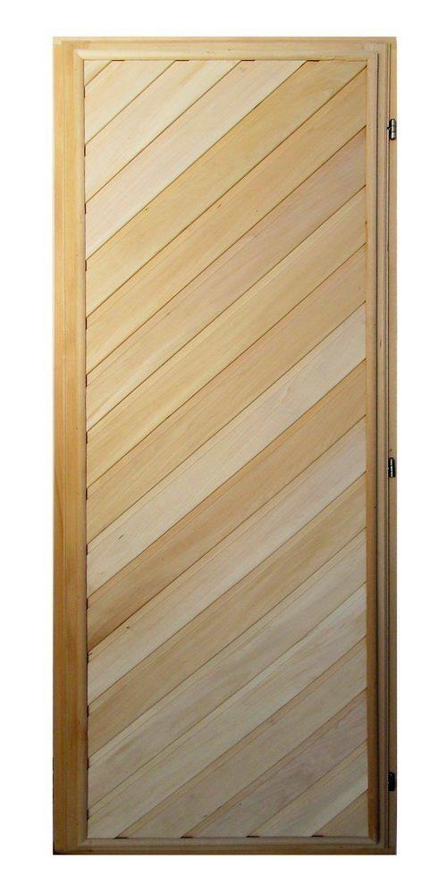 Двери для бани из липы в парилку - секреты профессионального банщика