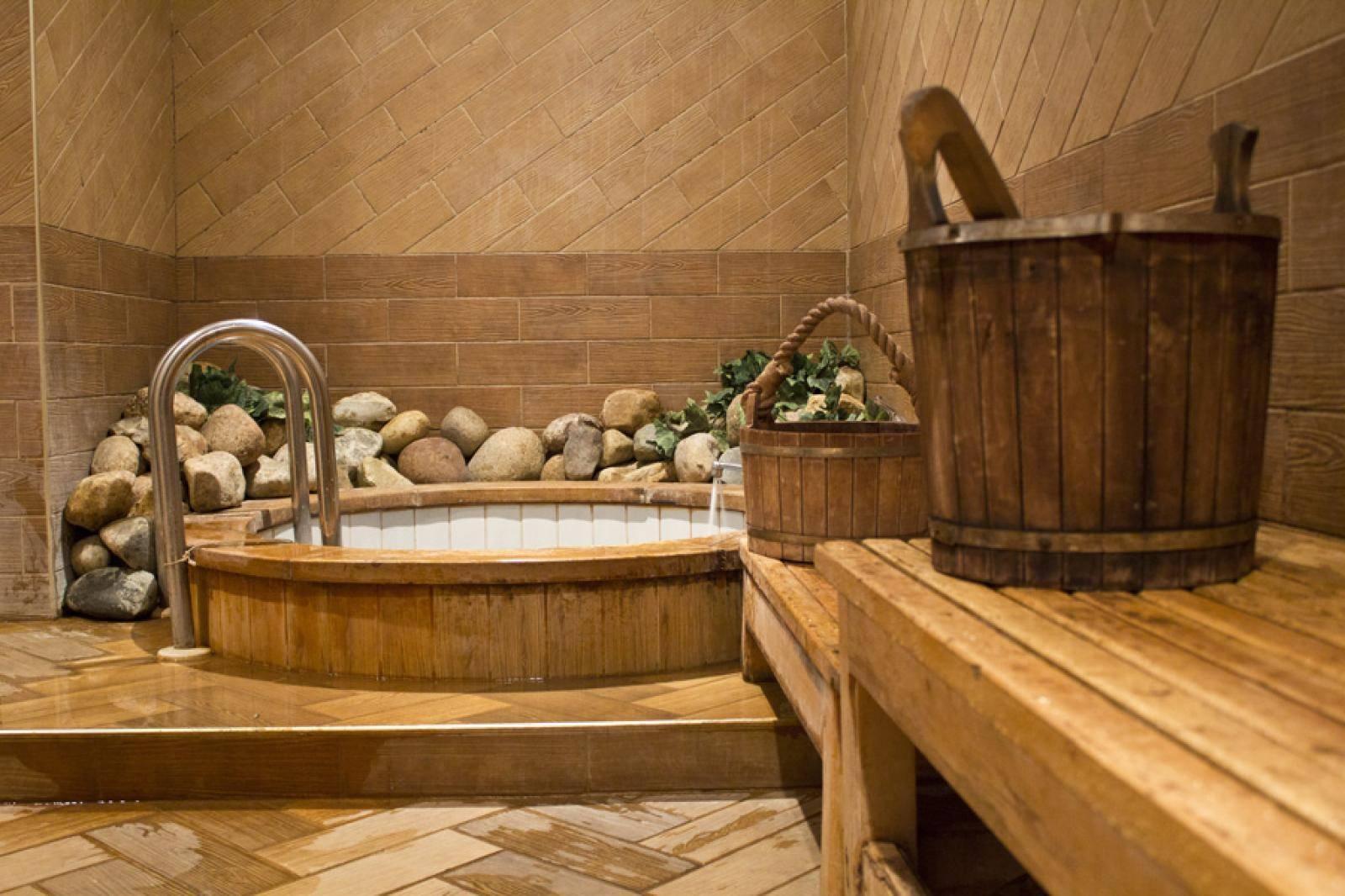 Бассейн в бане своими руками: делаем хорошо и надолго