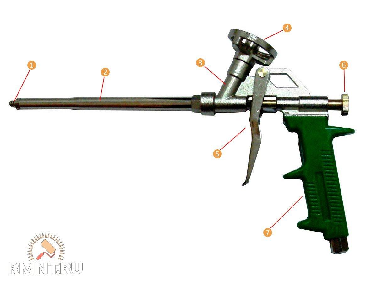 Топ-10 лучших пистолетов для монтажной пены | рейтинг